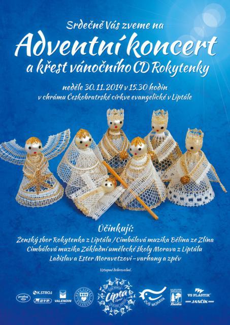 Adv. koncert rokytenka krest cd 30.11.2014