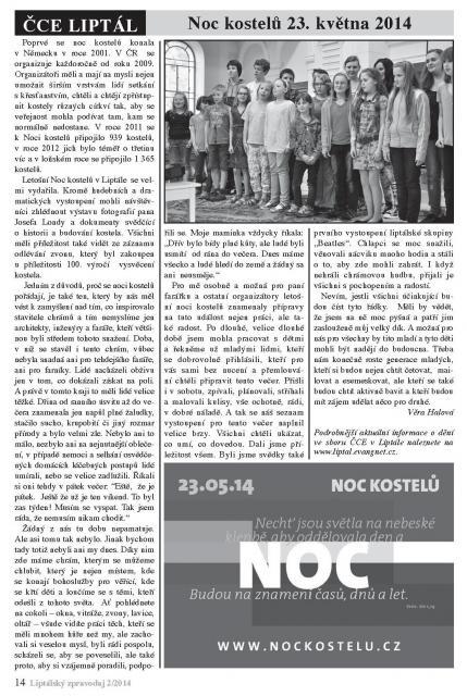 Liptalsky zpravodaj 2-2014